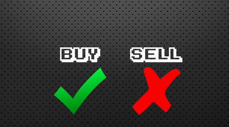 Buy/Sell Quick Reaction Week 1