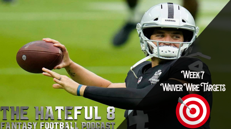 Week 7 Waiver Wire Targets