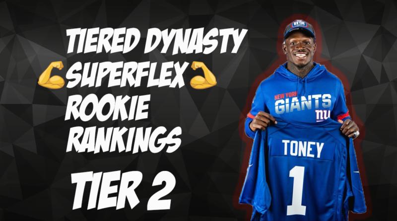 Tiered Dynasty SuperFlex Rookie Rankings: Tier 2