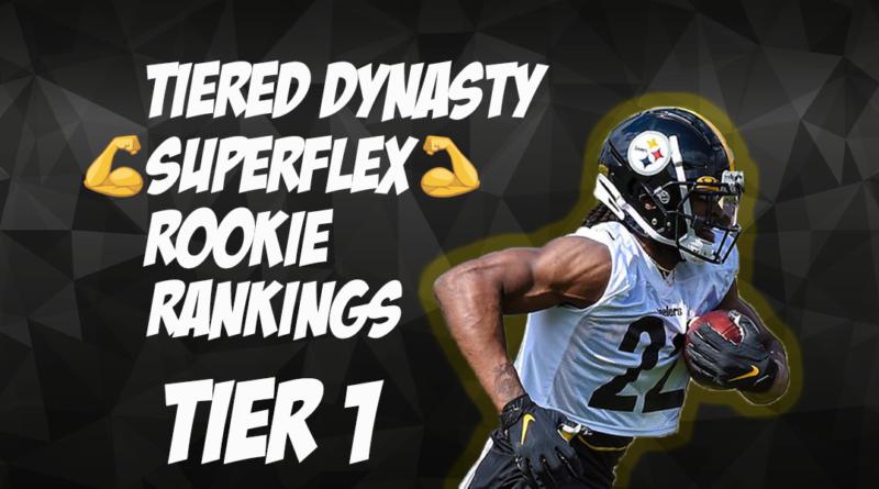 Tiered Dynasty Superflex Rookie Rankings: Tier 1